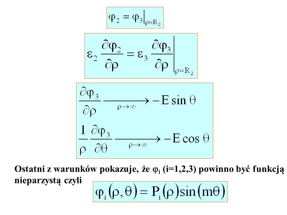 Ostatni z warunków pokazuje, że i (i=1,2,3) powinno być funkcją
