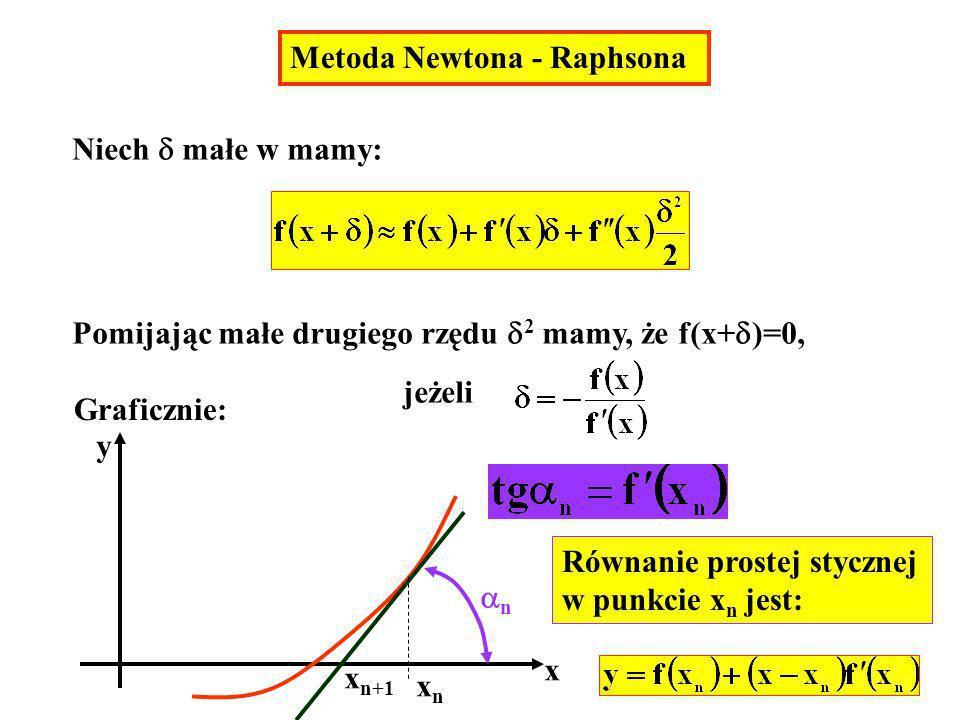 Pomijając małe drugiego rzędu 2 mamy, że f(x+)=0,