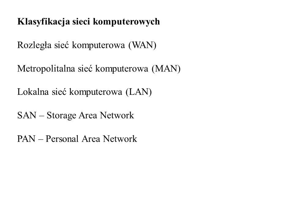 Klasyfikacja sieci komputerowych
