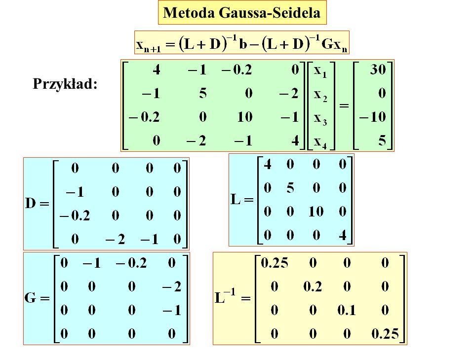 Metoda Gaussa-Seidela