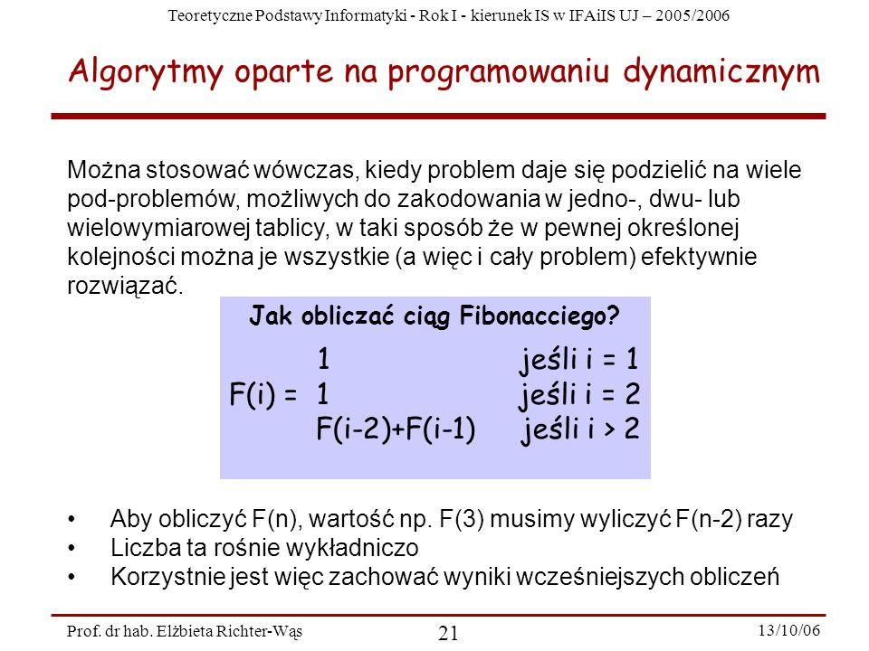 Jak obliczać ciąg Fibonacciego
