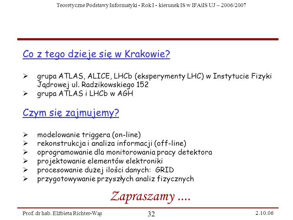 Zapraszamy .... Co z tego dzieje się w Krakowie Czym się zajmujemy