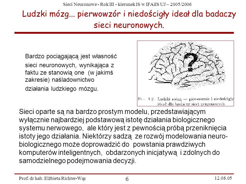 Ludzki mózg... pierwowzór i niedościgły ideał dla badaczy sieci neuronowych.