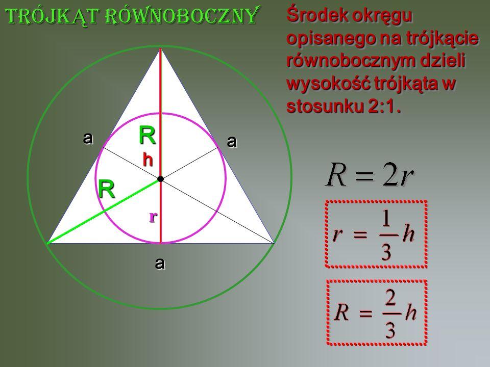 R R trójkĄt równoboczny