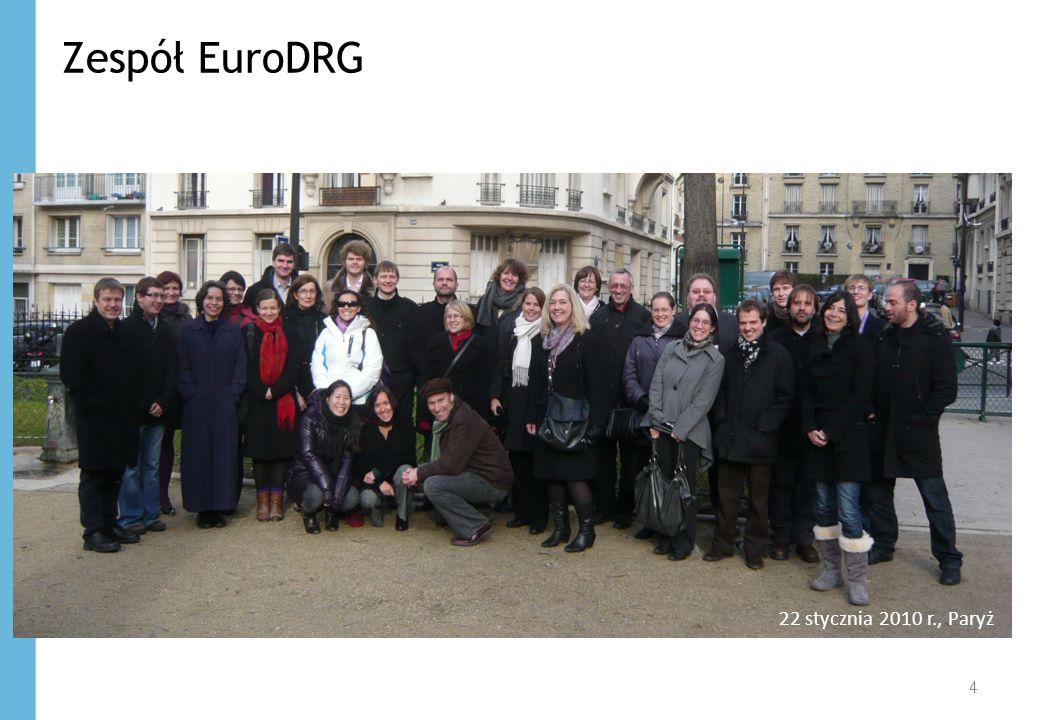 Zespół EuroDRG 22 stycznia 2010 r., Paryż