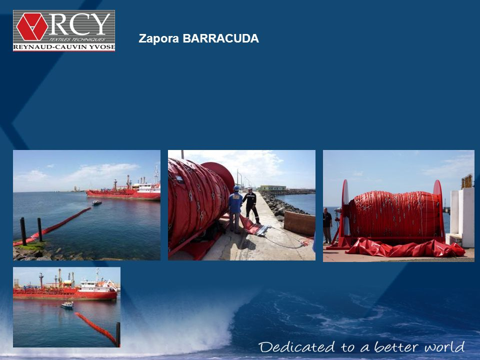 Zapora BARRACUDA