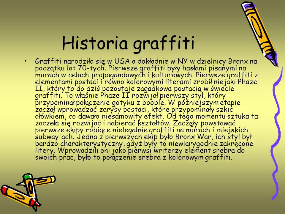 Historia graffiti