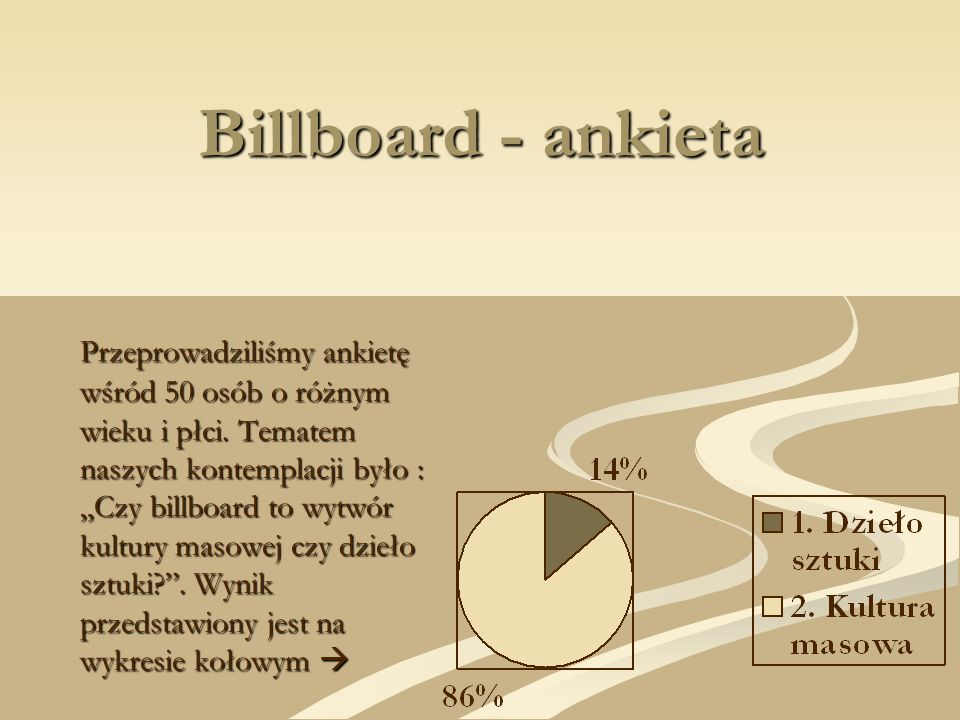 Billboard - ankieta