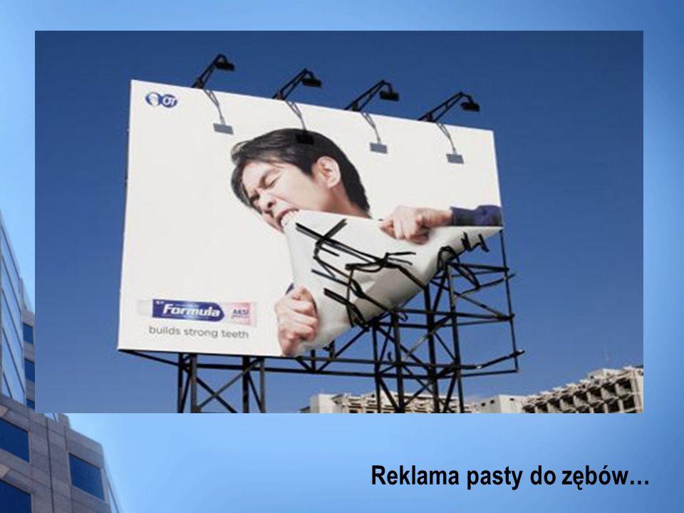 Reklama pasty do zębów…