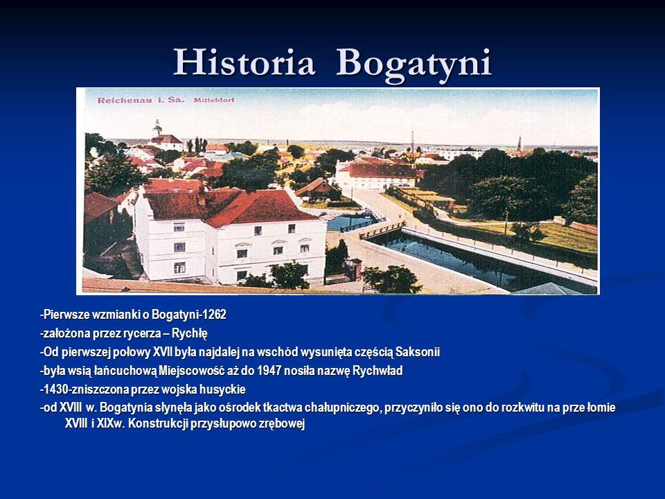 Historia Bogatyni -Pierwsze wzmianki o Bogatyni-1262