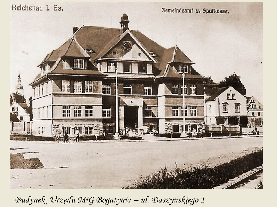 Budynek Urzędu MiG Bogatynia – ul. Daszyńskiego 1