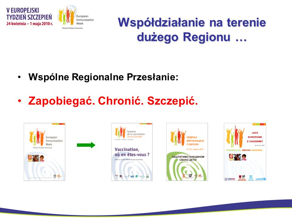 Współdziałanie na terenie dużego Regionu …