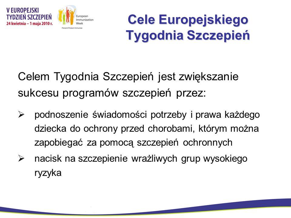 Cele Europejskiego Tygodnia Szczepień