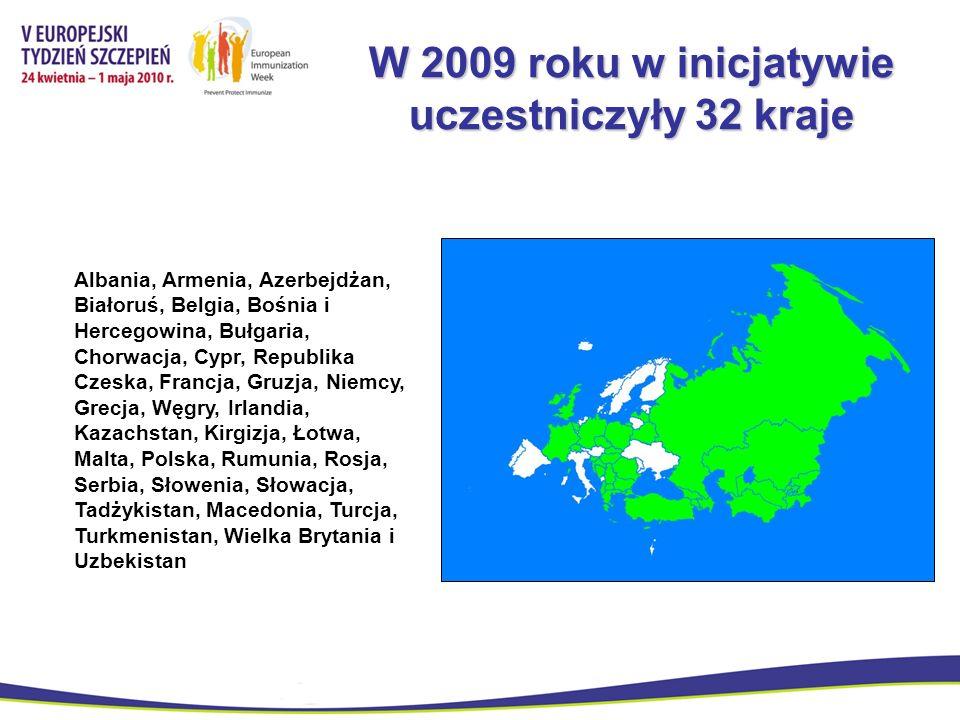 W 2009 roku w inicjatywie uczestniczyły 32 kraje