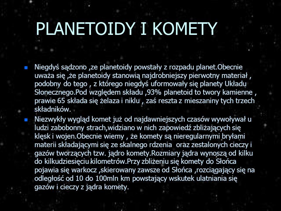 PLANETOIDY I KOMETY