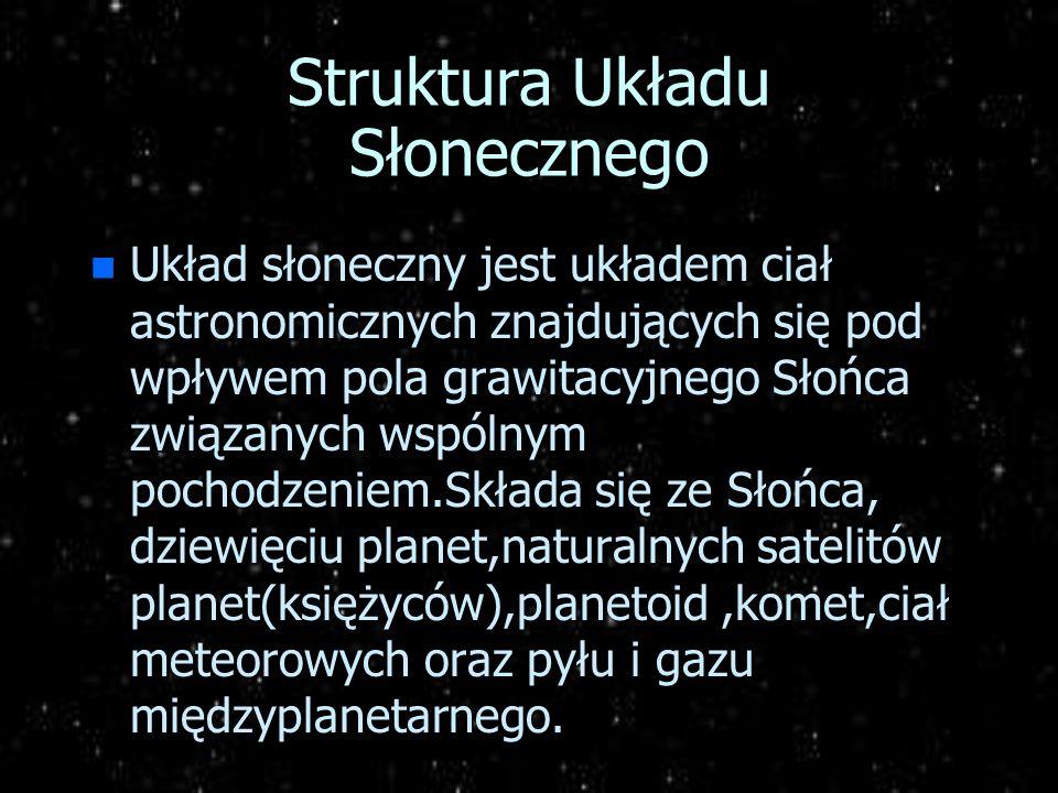Struktura Układu Słonecznego