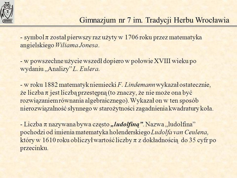 Gimnazjum nr 7 im. Tradycji Herbu Wrocławia