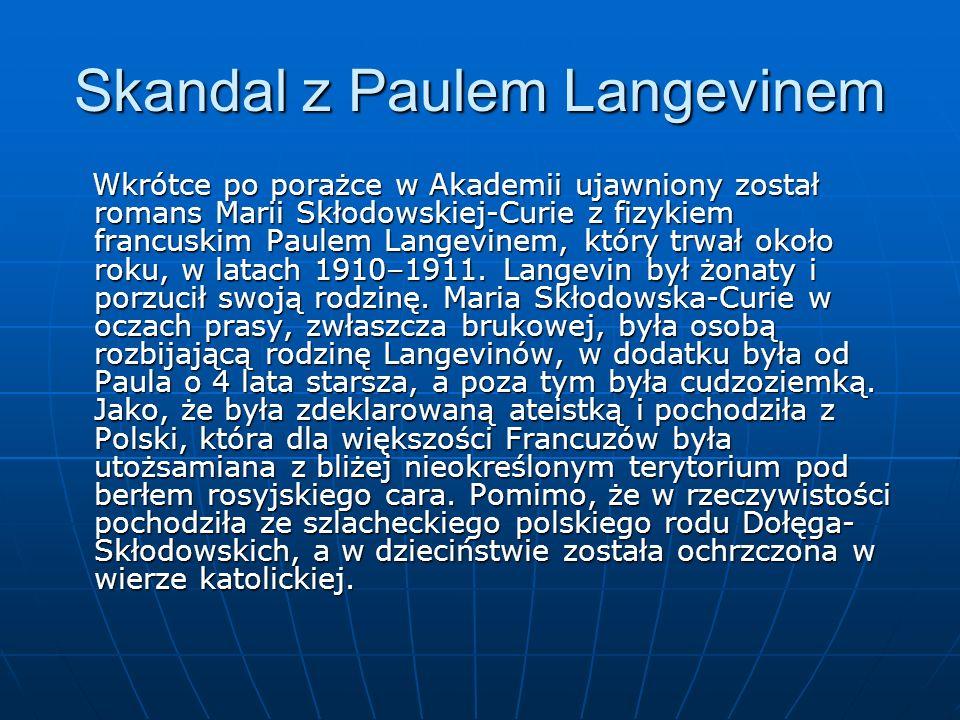 Skandal z Paulem Langevinem