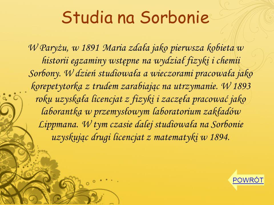 Studia na Sorbonie