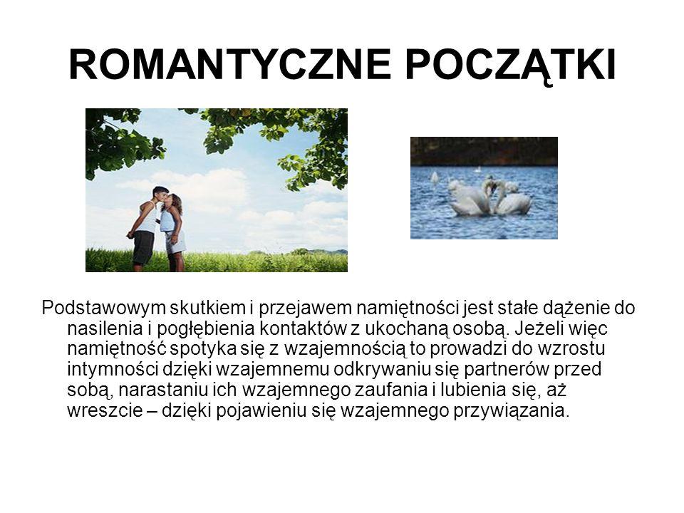 ROMANTYCZNE POCZĄTKI