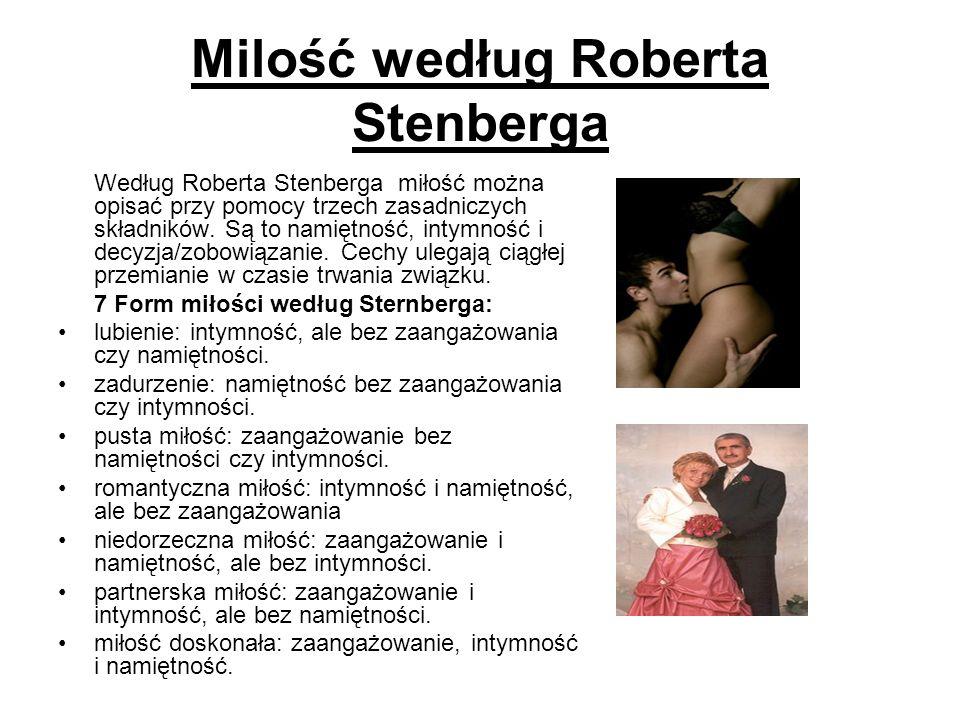 Milość według Roberta Stenberga