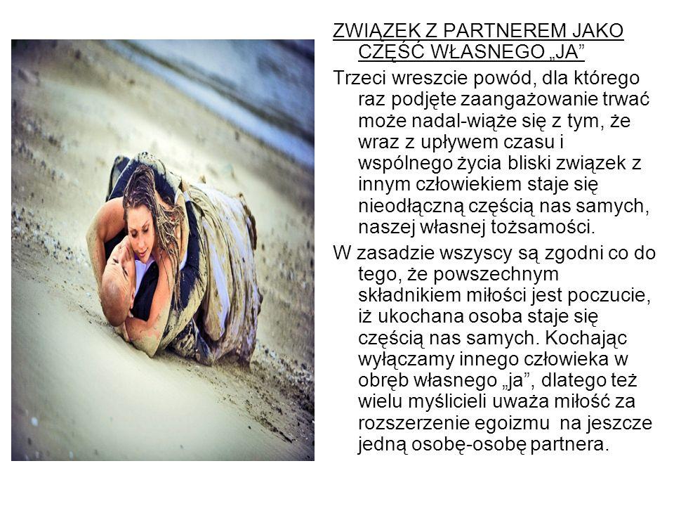 """ZWIĄZEK Z PARTNEREM JAKO CZĘŚĆ WŁASNEGO """"JA"""