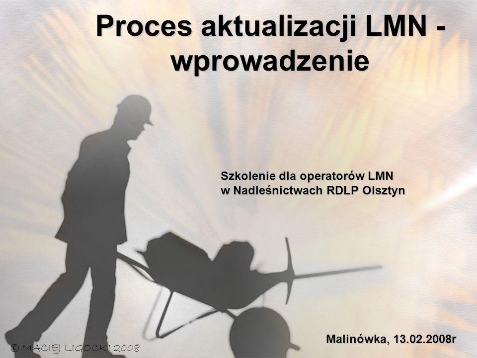 Proces aktualizacji LMN - wprowadzenie