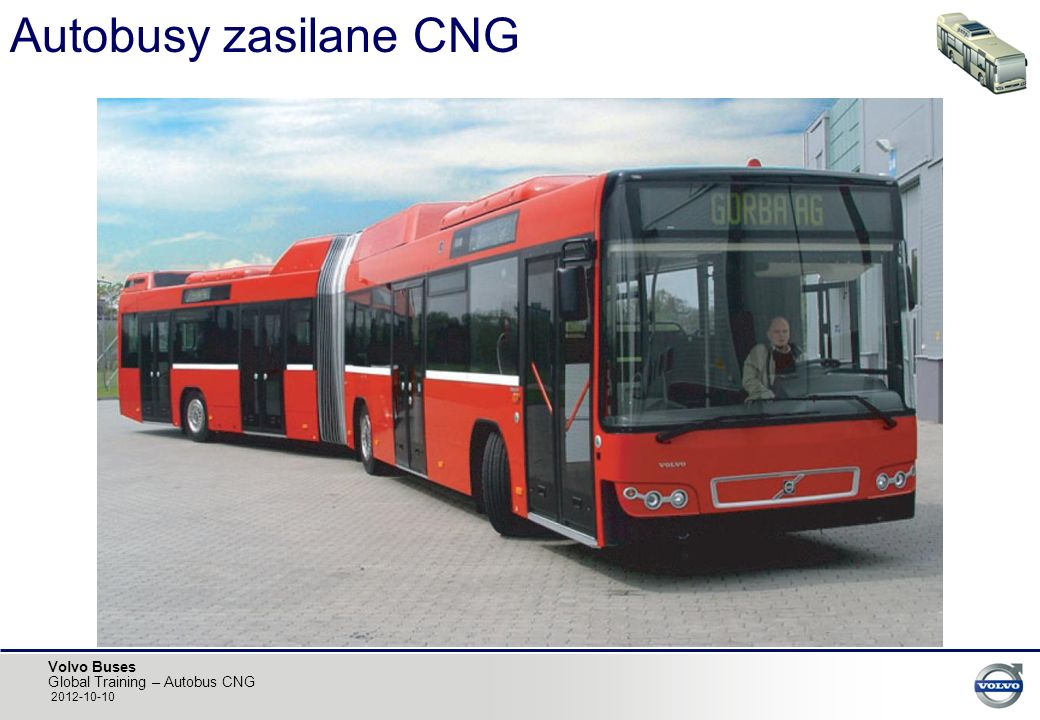 Autobusy zasilane CNG