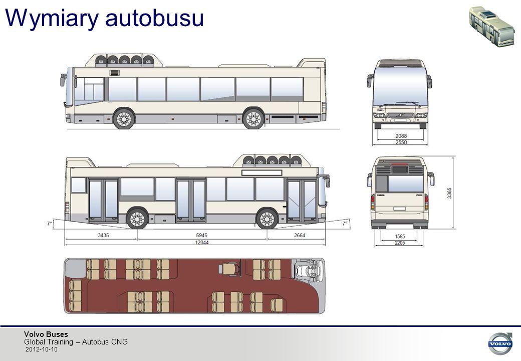 Wymiary autobusu