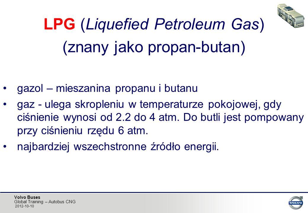 LPG (Liquefied Petroleum Gas) (znany jako propan-butan)