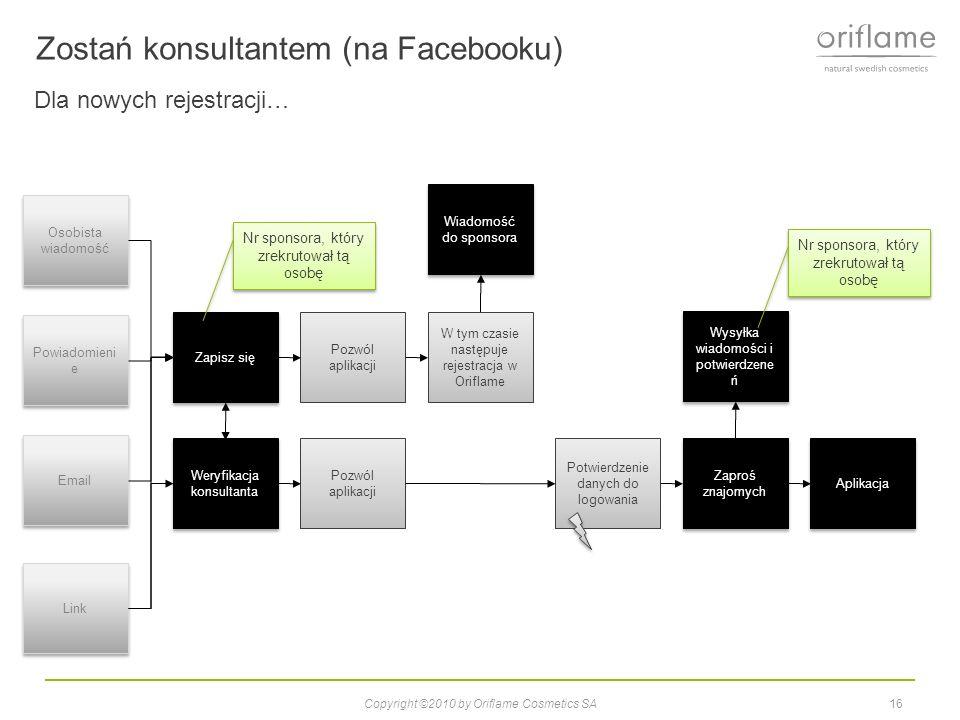 Zostań konsultantem (na Facebooku)