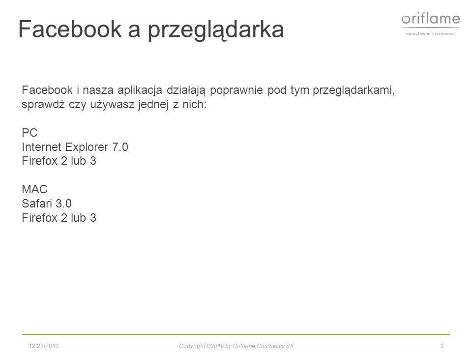 Facebook a przeglądarka