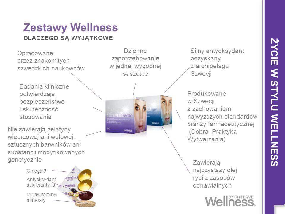 Zestawy Wellness ŻYCIE W STYLU WELLNESS DLACZEGO SĄ WYJĄTKOWE
