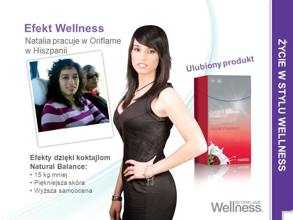 Efekt Wellness ŻYCIE W STYLU WELLNESS Natalia pracuje w Oriflame