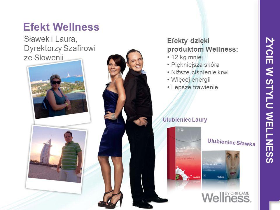 Efekt Wellness ŻYCIE W STYLU WELLNESS Sławek i Laura,