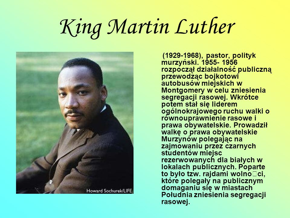 King Martin Luther
