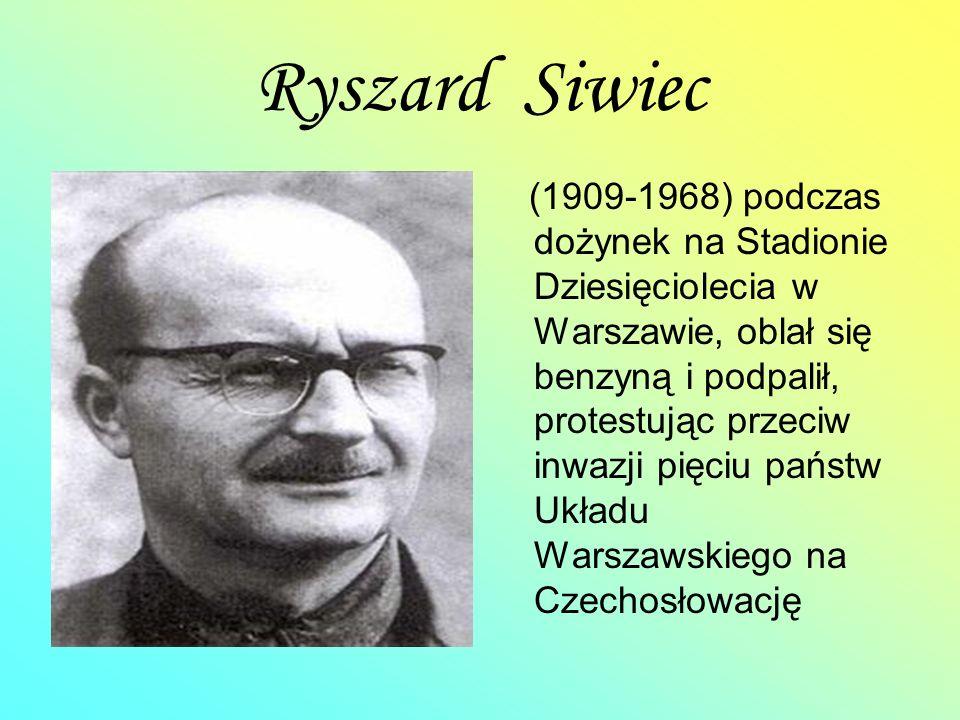 Ryszard Siwiec
