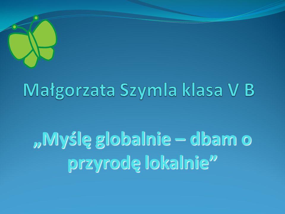 Małgorzata Szymla klasa V B