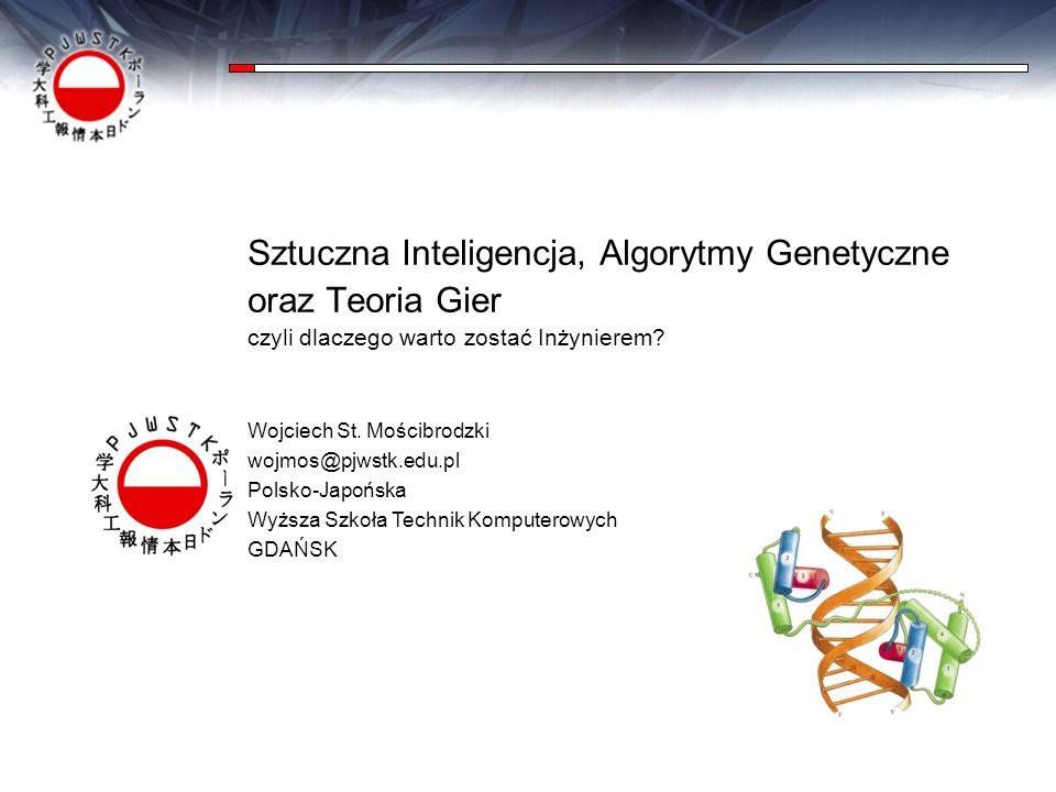 Sztuczna Inteligencja, Algorytmy Genetyczne oraz Teoria Gier
