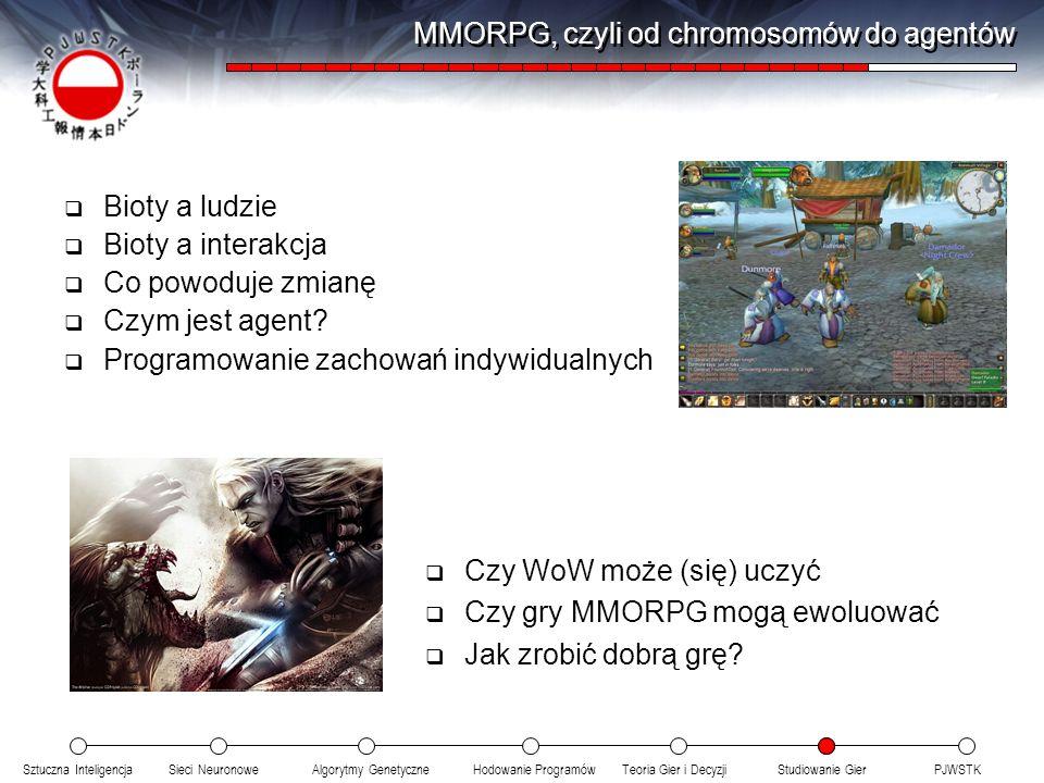 MMORPG, czyli od chromosomów do agentów