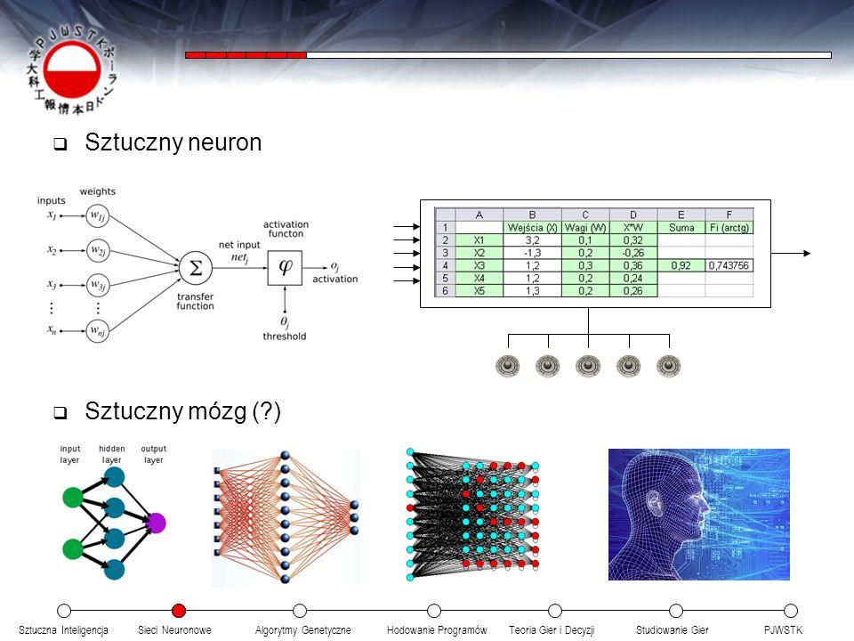 Sztuczny neuron Sztuczny mózg ( )