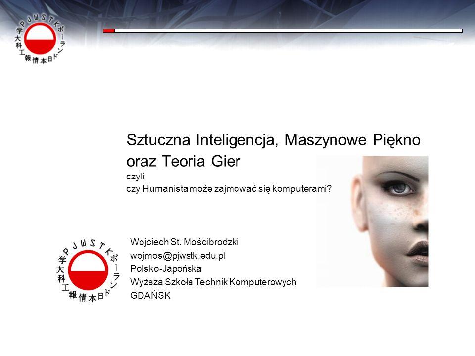 Sztuczna Inteligencja, Maszynowe Piękno oraz Teoria Gier