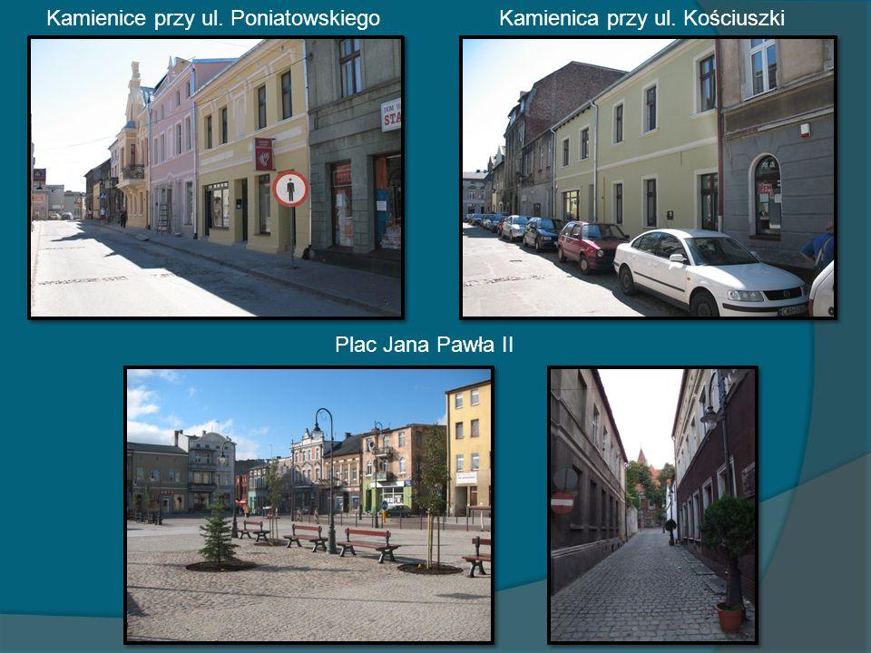 Kamienice przy ul. Poniatowskiego