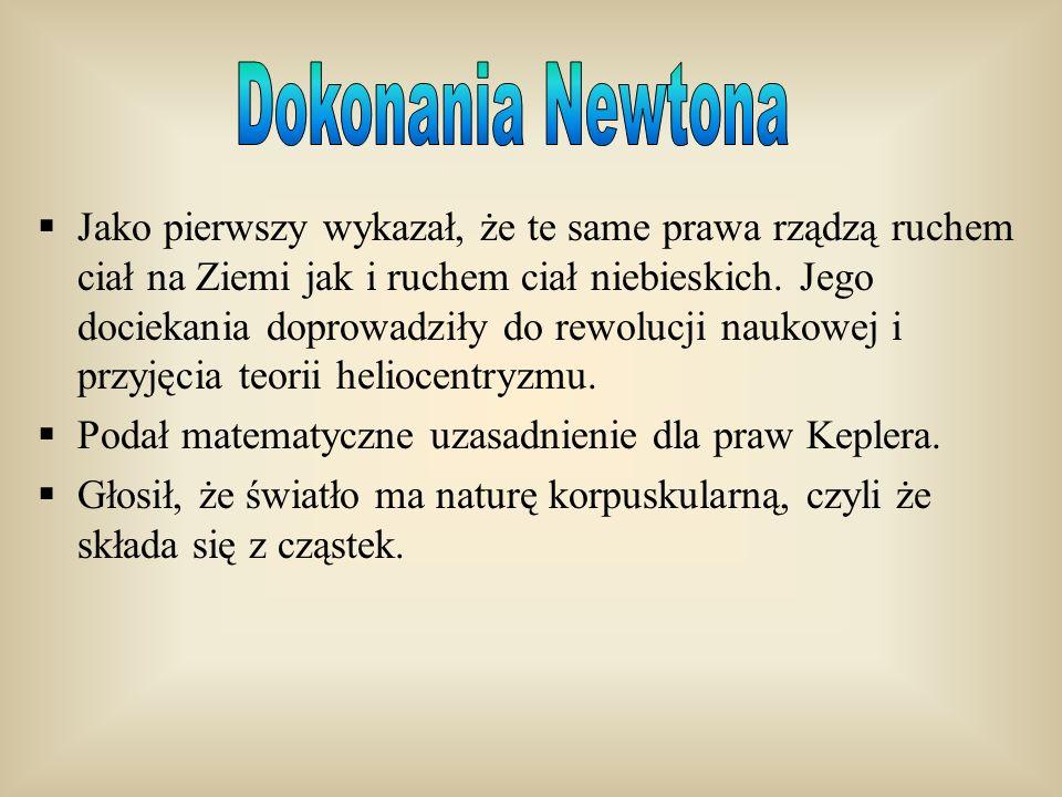 Dokonania Newtona