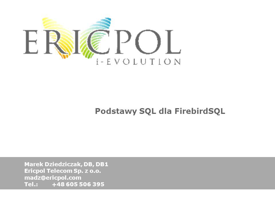 Podstawy SQL dla FirebirdSQL