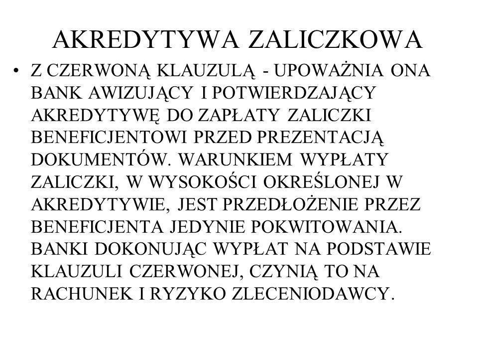 AKREDYTYWA ZALICZKOWA