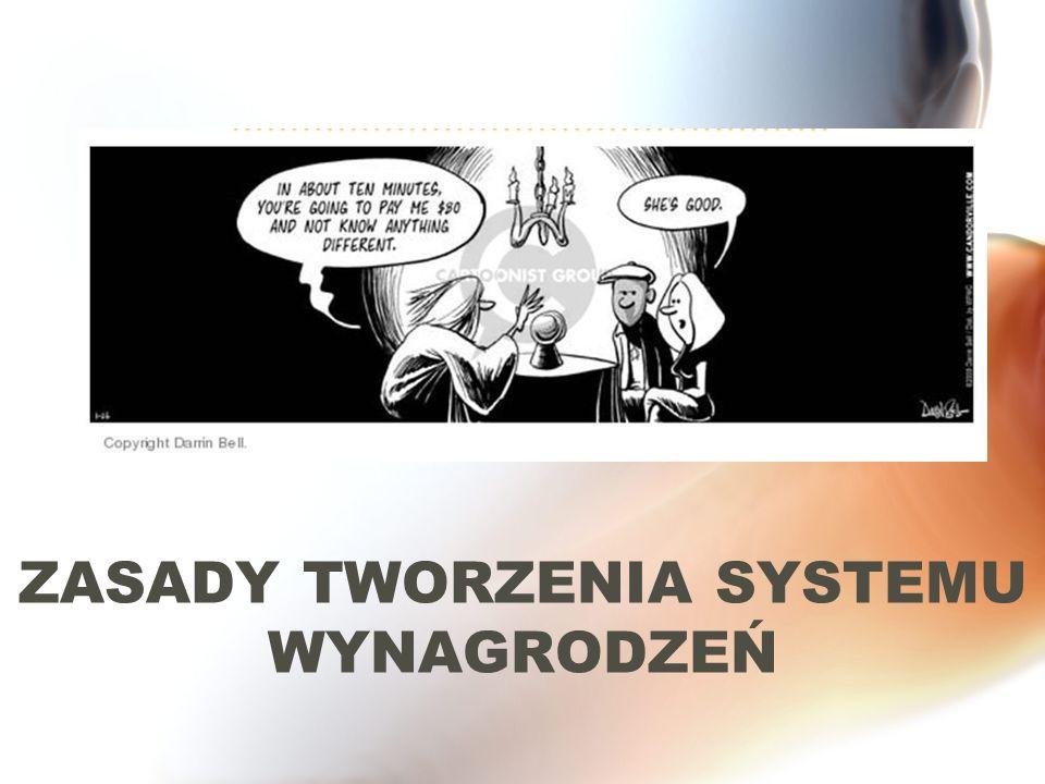 ZASADY TWORZENIA SYSTEMU WYNAGRODZEŃ