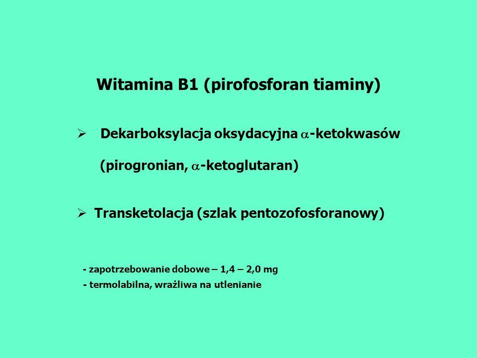 Witamina B1 (pirofosforan tiaminy)