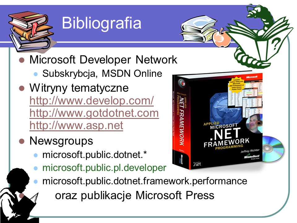 Bibliografia Microsoft Developer Network