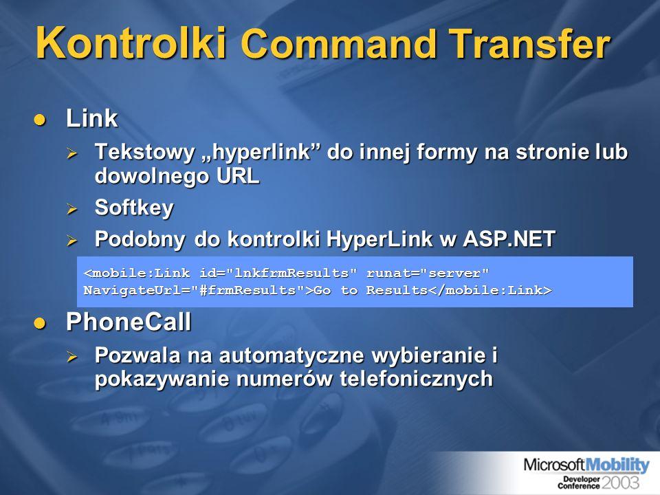 Kontrolki Command Transfer